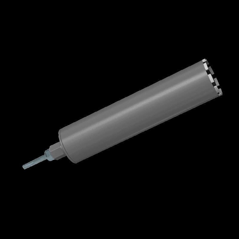 """Алмазная коронка Ø112мм + адаптер под SDS plus 1 ¼"""