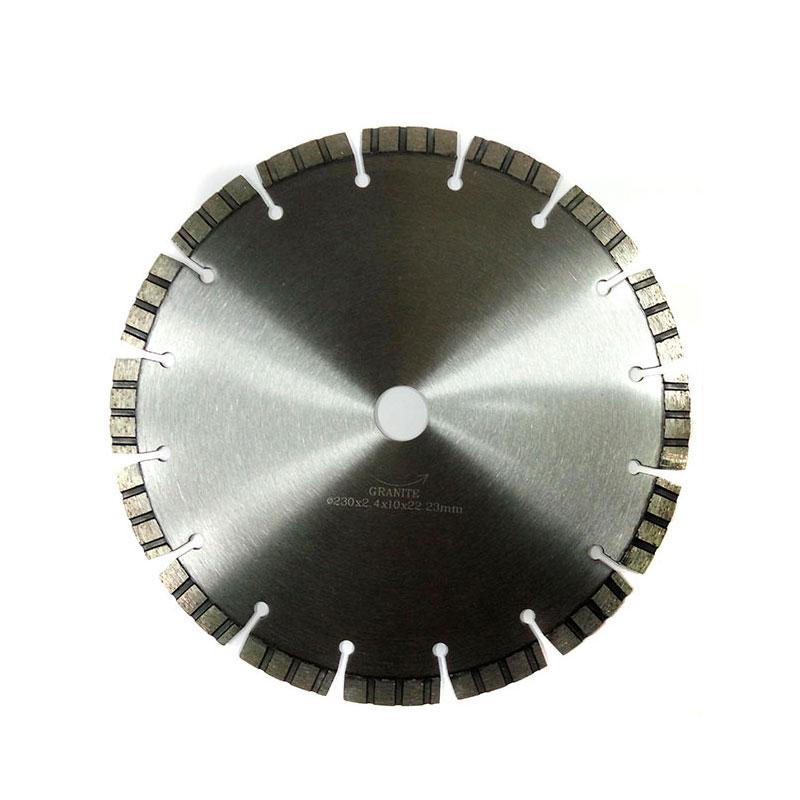 диск алмазный 230мм по бетону и граниту turbo