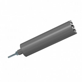 Алмазная коронка Ø132мм + адаптер под SDS plus 1 ¼