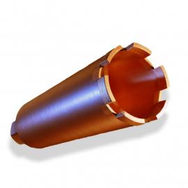 Алмазная коронка ∅72 мм Diamond Hit D400 для сухого сверления